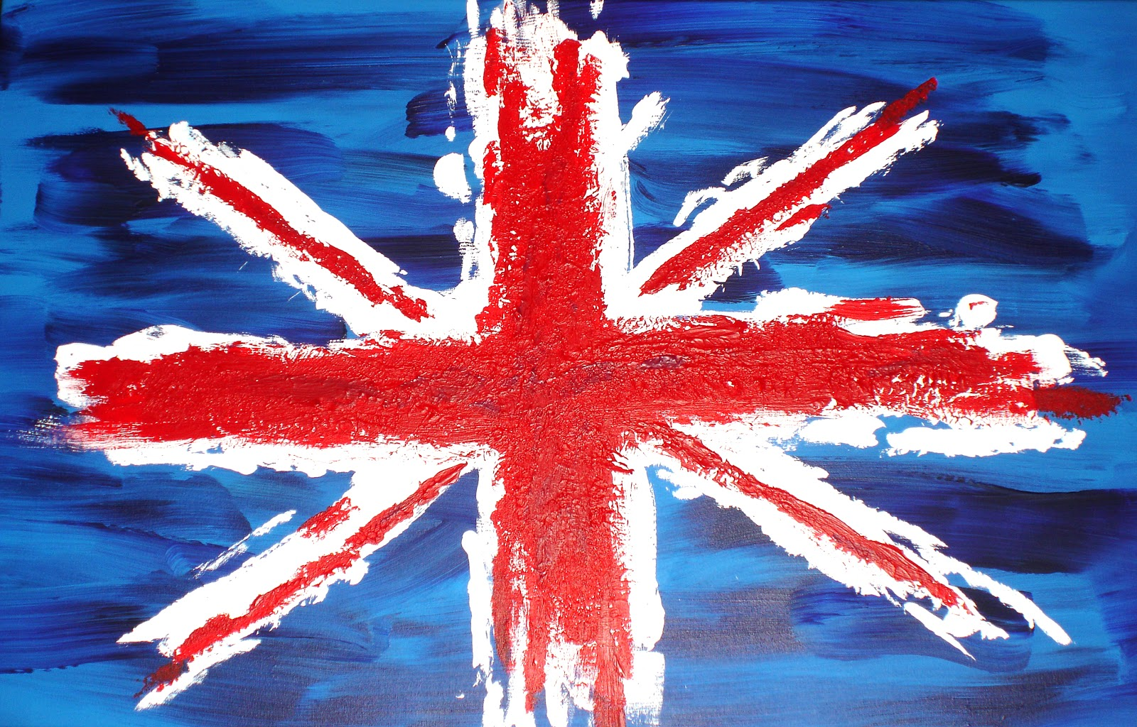 British Flag Wallpaper The Olive Gal